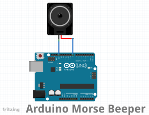 Arduino-Morse-Fritz